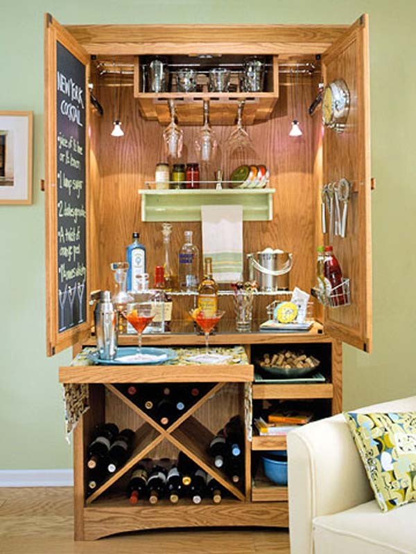 Awesome DIY Home Bar You Need in Your Home