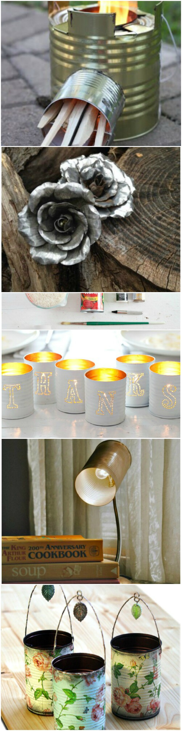 10 awesome DIY projects using tin cans