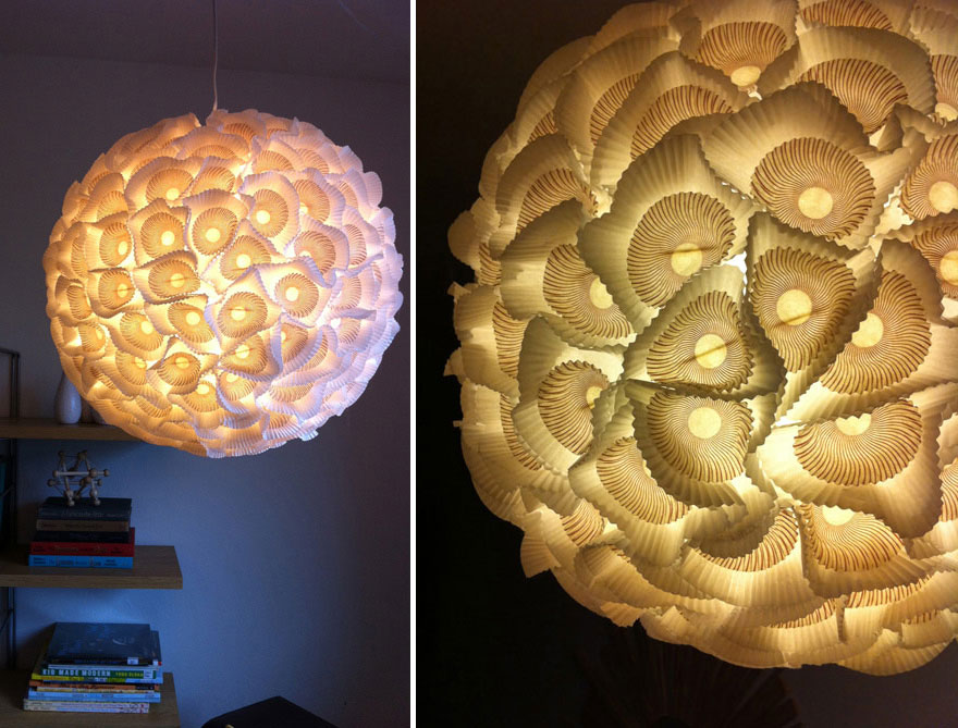 DIY Lamps & Chandeliers You Can Create From Everyday Objects