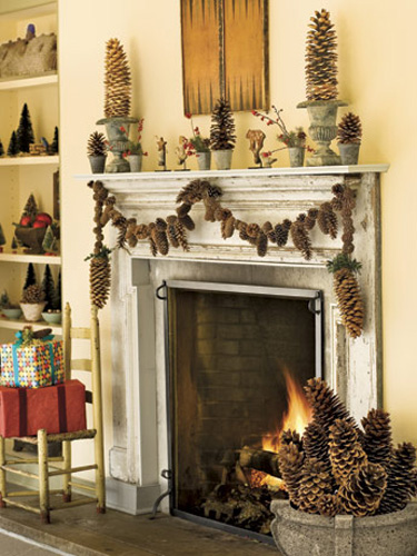10 DIY Ways to Decorate With Pinecones This Winter