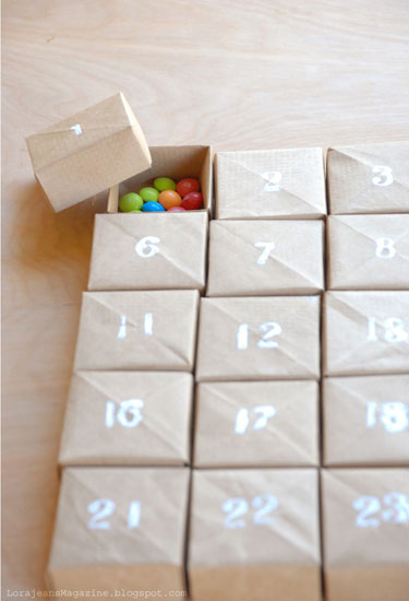 12DIY Advent Calendars to Help You Count Down to Christmas
